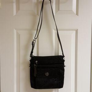 Giani Burnini black crossbody bag